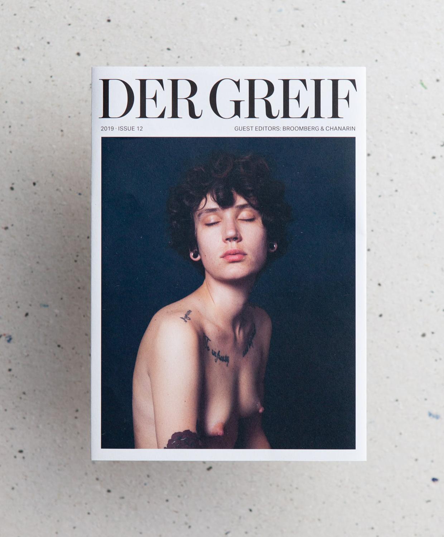 © Der Greif #12 Rückseite, Fotografie von Milan Gies, Rover