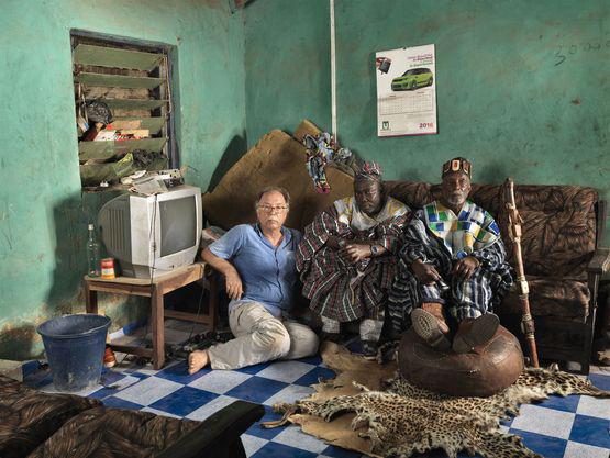 "Ghana 2016 ""THE SWEATING SUBJECT"" © Jan Banning"