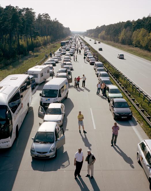 Autobahn - Jörg Brüggemann