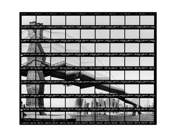 © Thomas Kellner KunstSkyline at Brooklyn Bridge 2004