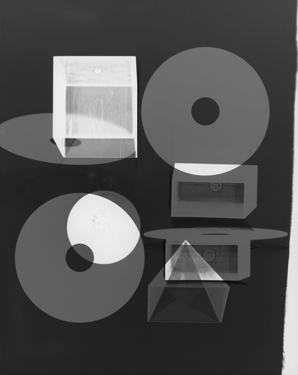 Doug Fogelson Forms and Records No. 11, 2014 Fotogramm, Silbergelatinepapier Courtesy Doug Fogelson © Doug Fogelson