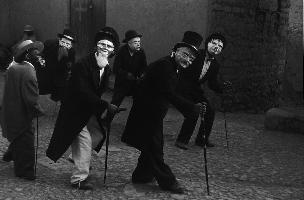 Macchu Tussec Dancers, Juli, Peru, 1956 © 2019 John Cohen,.jpg