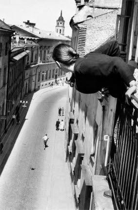 Marathon in Universitates Street, 1959 © Antanas Sutkus