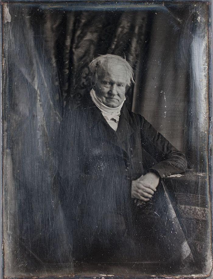 Hermann Biow Alexander von Humboldt, 1847 © Museum für Kunst und Gewerbe Hamburg